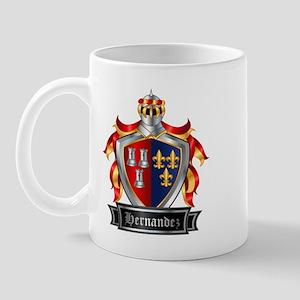 HERNANDEZ COAT OF ARMS Mug