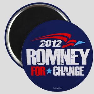 "Romney 2012 For Change 2.25"" Magnet (10 pack)"