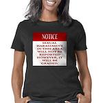 Femdiom NOTICE repo... Women's Classic T-Shirt