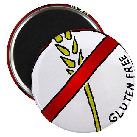 "Gluten Free 2.25"" Magnet (100 pack)"