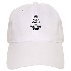 KEEP CALM AND WDTPRS.COM Baseball Cap