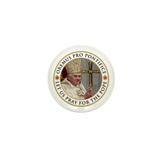 Pray For Pope Benedict XVI Mini Button (100 pack)