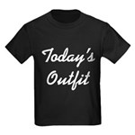 Today's Outfit Kids Dark T-Shirt