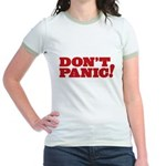 Don't Panic Jr. Ringer T-Shirt