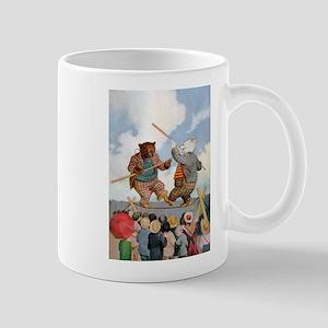 Roosevelt Bears Jousting Mug