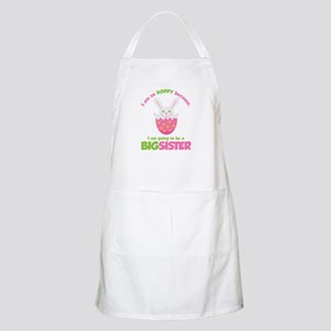 Easter Bunny going to be a Big Sister Apron