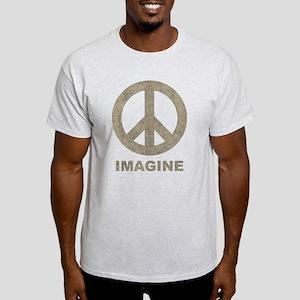 VintageImaginePeace1Bk T-Shirt