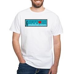 Design 4 White T-Shirt