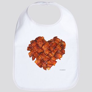 Bacon Heart - Bib