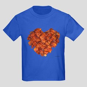 Bacon Heart - Kids Dark T-Shirt