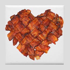 Bacon Heart - Tile Coaster