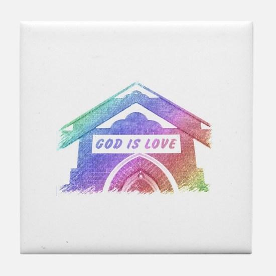 Cute Heavenly Tile Coaster