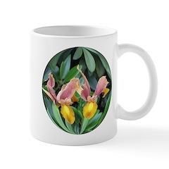 Double Iris flowers Mug