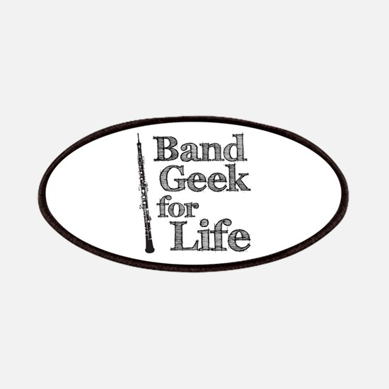 Oboe Band Geek Patches