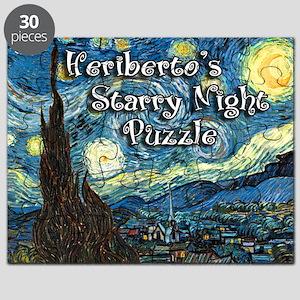 Heriberto's Starry Night Puzzle