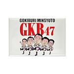 GKB47 Rectangle Magnet (10 pack)