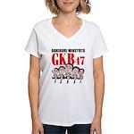 GKB47 Women's V-Neck T-Shirt