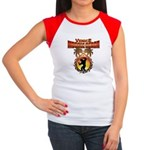 MuscleBeachVenice Tribal Women's Cap Sleeve T-Shir