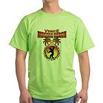 MuscleBeachVenice Tribal Green T-Shirt