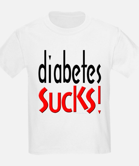 Diabetes Sucks Kids T-Shirt