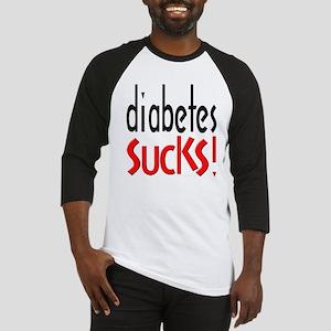 Diabetes Sucks Baseball Jersey