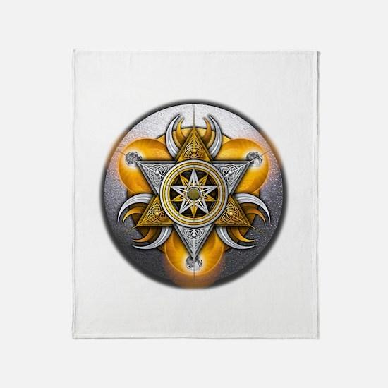 Pagan God & Goddess Throw Blanket
