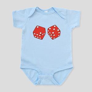 Lucky Seven Dice Infant Bodysuit