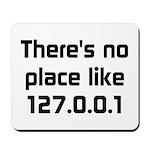 No Place Like 127.0.0.1 Mousepad