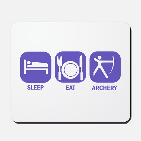 Sleep eat Archery Mousepad