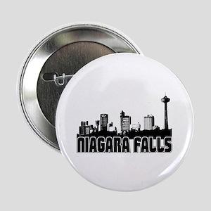 "Niagara Falls Skyline 2.25"" Button"