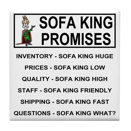sofa king low. Sofa King\u003cBR\u003e Tile Coaster King Low