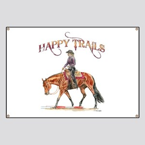 Happy Trails Banner