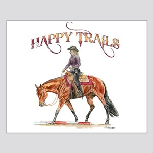 Happy Trails Small Poster