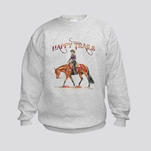 Happy Trails Kids Sweatshirt