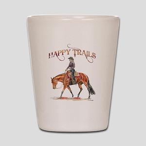 Happy Trails Shot Glass