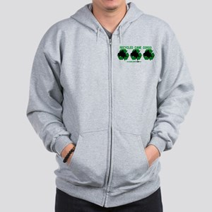 Recycled Cane Corso Zip Hoodie