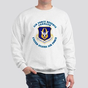 Air Force Reserve Cmd with Text Sweatshirt