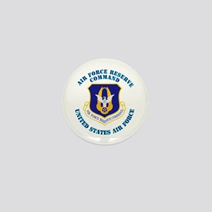 Air Force Reserve Cmd with Text Mini Button