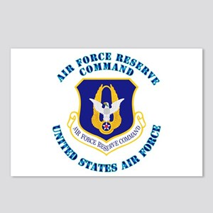 Air Force Reserve Cmd with Text Postcards (Package