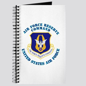 Air Force Reserve Cmd with Text Journal