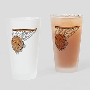 Basketball117 Drinking Glass