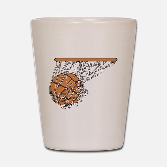 Basketball117 Shot Glass