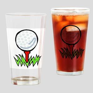 Golf41 Drinking Glass