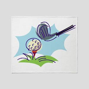 Golf24 Throw Blanket