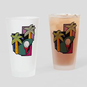 Golf22 Drinking Glass