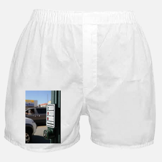 Push Button Boxer Shorts