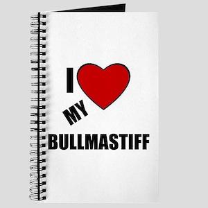 I LOVE MY BULLMASTIFF Journal