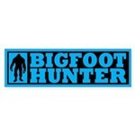 Finding Bigfoot - Hunter Sticker (Bumper 10 pk)