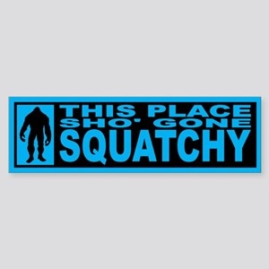 Finding Bigfoot - Gone Squatchy Sticker (Bumper)