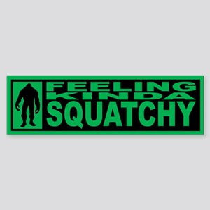 Finding Bigfoot - Squatchy Sticker (Bumper)